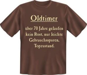 T-Shirt Oldtimer 70 Jahre Jahrgang Geburtsjahr (Größe:: XXL (56))