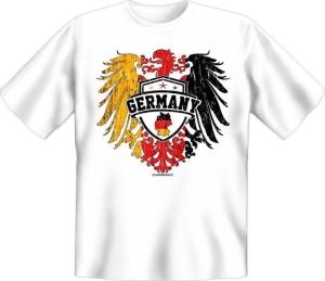 T-Shirt GERMANY Adler Deutschland (Größe:: S (42/44))