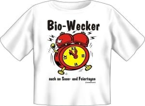 T-Shirt Baby BIO WECKER (Größe:: 56-62)