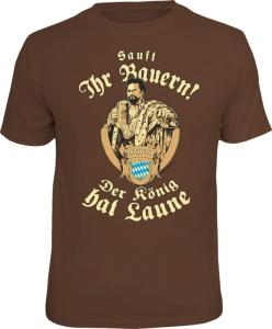 T-Shirt sauft ihr Bauern! Der König hat Laune (Größe:: M (46/48))