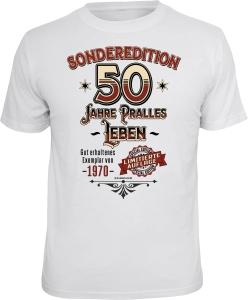 T-Shirt SONDEREDITION 50 JAHRE PRALLES LEBEN (Größe:: L (50/52))