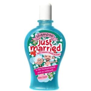 Shampoo Just Married Hochzeitsnacht Scherzartikel Geschenk 350 ml