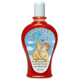 Shampoo Für alle ab 40 Geburtstag Scherzartikel Geschenk 350 ml