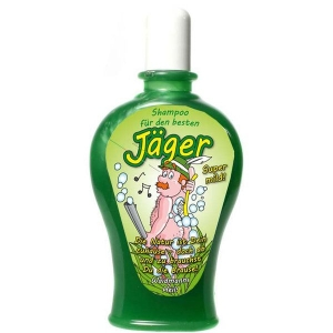 Shampoo für Jäger Förster Scherzartikel Geschenk 350 ml