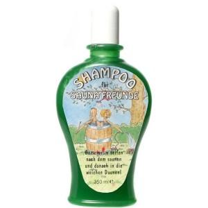 Shampoo für Sauna Freunde Scherzartikel Geschenk 350 ml