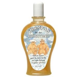 Shampoo für den Ruhestand Rente Scherzartikel Geschenk 350 ml