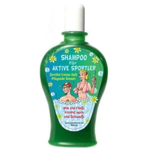 Shampoo für aktive Sportler Scherzartikel Geschenk 350 ml