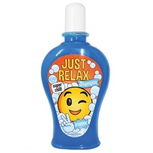 Shampoo Just Relax Smile Face Scherzartikel Geschenk 350 ml