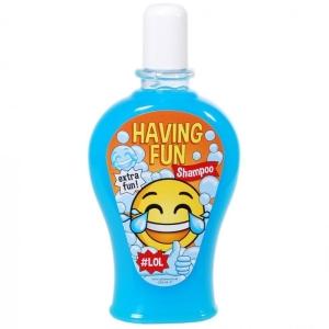 Shampoo Having Fun Smile Face Scherzartikel Geschenk 350 ml