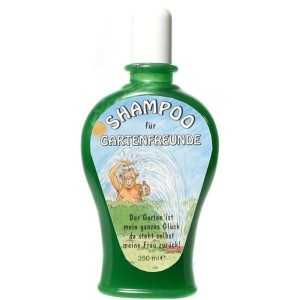 Shampoo für Gartenfreunde Gärtner Scherzartikel Geschenk 350 ml