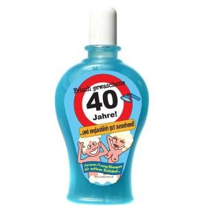 Frisch gewaschene 40 Jahre Shampoo Geburtstag Scherzartikel 350 ml