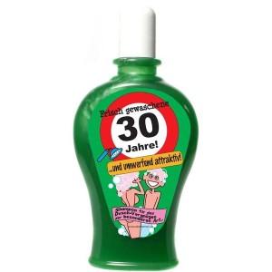 Frisch gewaschene 30 Jahre Shampoo Geburtstag Scherzartikel 350 ml