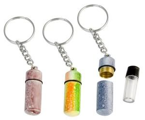 1 Schlüsselanhänger Versteck Pillendose
