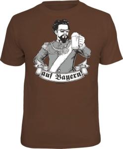 T-Shirt Prost auf Bayern Prosit (Größe:: S (42/44))