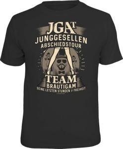 T-Shirt Junggesellenabschiedstour Team Bräutigam (Größe:: XXL (56))