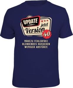 T-Shirt UPDATE JETZT VERSION 40 (Größe:: XXL (56))