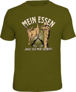 T-Shirt MEIN ESSEN JAGE ICH MIR SELBST (Größe:: XXL (56))