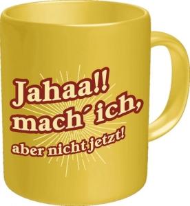 Kaffeebecher Jahaa!! mach ich