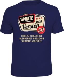 T-Shirt UPDATE JETZT VERSION 50 (Größe:: L (50/52))