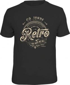 T-Shirt 60 JAHRE SPITZENQUALITÄT RETRO (Größe:: XXL (56))