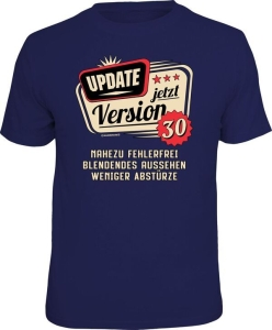 T-Shirt UPDATE JETZT VERSION 30 (Größe:: L (50/52))