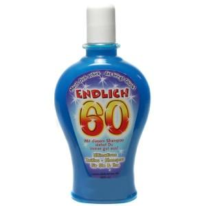 Endlich 60 Shampoo Geburtstag Scherzartikel Geschenk 350 ml