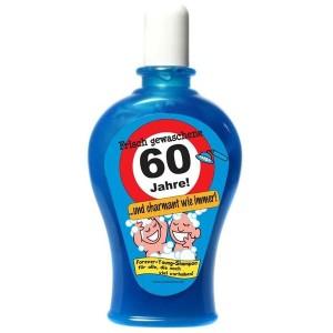 Frisch gewaschene 60 Jahre Shampoo Geburtstag Scherzartikel 350 ml