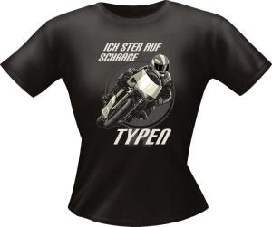 T-Shirt Lady Girlie SCHRÄGE TYPEN PARTY Shirt Spruch witzig Fun (Größe:: S)