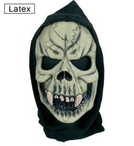 Maske Schädel Totenkopf Haube Halbmaske Halloween Karneval