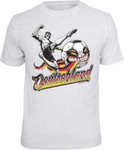 T-Shirt  Deutschland Fussball (Größe:: S (42/44))