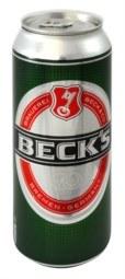Dosenversteck Becks Bier