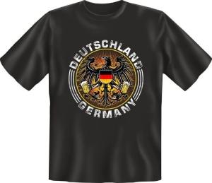 T-Shirt Deutschland GERMANY Adler (Größe:: S (42/44))