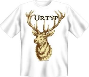 T-Shirt URTYP HIRSCH (Größe:: S (42/44))