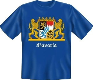T-Shirt Bavaria Bayern (Größe:: S (42/44))