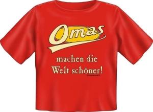T-Shirt Baby Omas machen die Welt schöner (Größe:: 56-62)