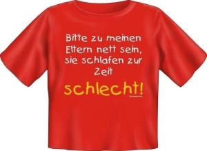 T-Shirt Baby ELTERN SCHLAFEN SCHLECHT (Größe:: 56-62)