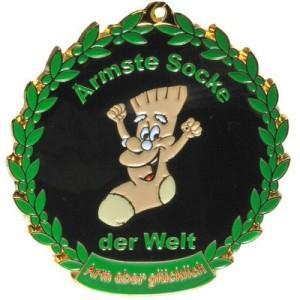 Orden Medaille Ärmste Socke der Welt