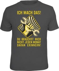 T-Shirt ICH MACH DAS NICHT ERINNERN (Größe:: S (42/44))