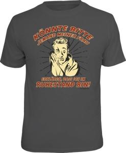 T-Shirt ERKLÄREN DASS ICH IM RUHESTAND BIN (Größe:: XXL (56))