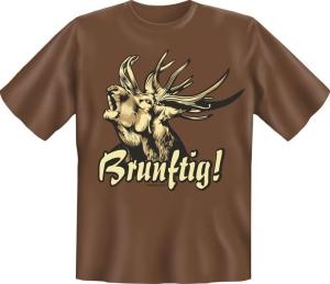 T-Shirt BRUNFTIG JÄGER (Größe:: XXL (56))