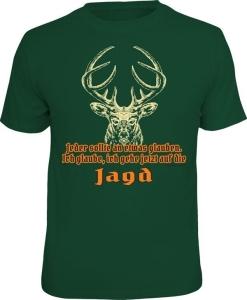 T-Shirt ICH GLAUBE ICH GEHE JETZT AUF DIE JAGD (Größe:: XXL (56))