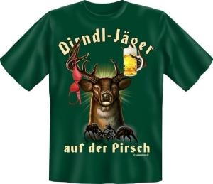 T-Shirt DIRNDL JÄGER AUF DER PIRSCH (Größe:: XXL (56))