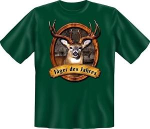 T-Shirt JÄGER DES JAHRES (Größe:: XXL (56))