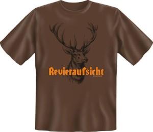 T-Shirt REVIERAUFSICHT JÄGER (Größe:: XXL (56))