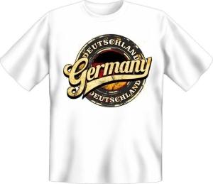 T-Shirt Deutschland GERMANY (Größe:: S (42/44))
