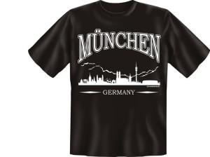 T-Shirt GERMANY MÜNCHEN Deutschland (Größe:: S (42/44))