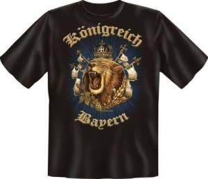T-Shirt KÖNIGREICH BAYERN (Größe:: S (42/44))
