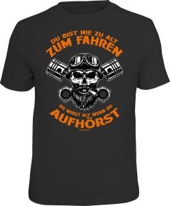 T-Shirt LEBEN NACH DEM TOD? FASS MEIN BIKE AN..... (Größe:: L (50/52))