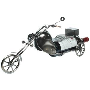 Flaschenhalter Motorrad aus Metall Flaschenständer