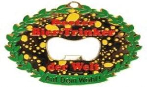 Orden Medaille mit Öffner Bester Biertrinker der Welt